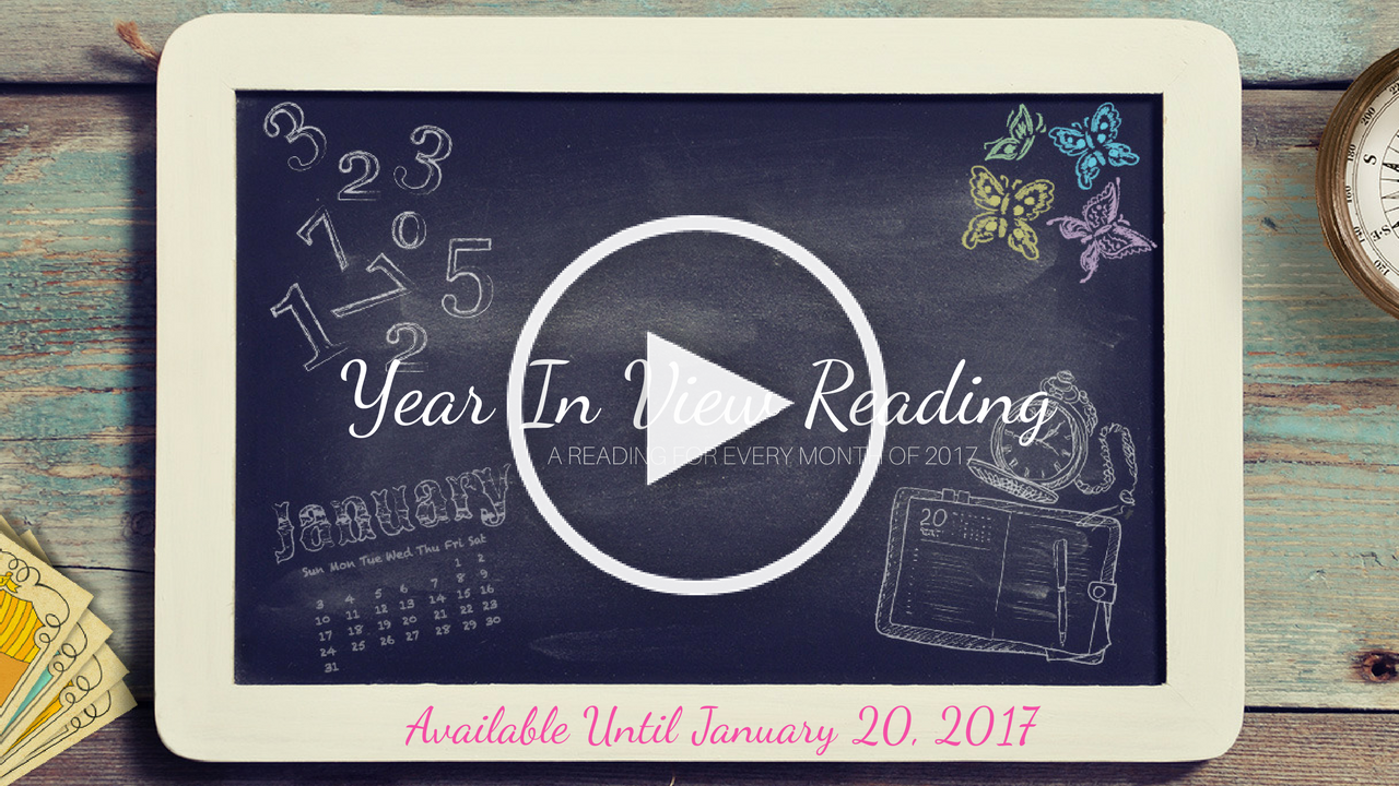 Your Year In View Reading 2017!