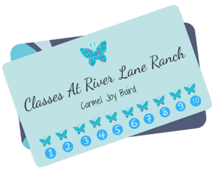 River Lane Ranch Punch Card
