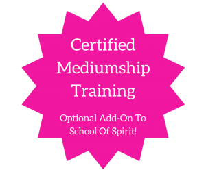 certified Mediumship training add on